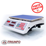 Balanca Eletronica Digital 30kg Triunfo Max Dst30c/t Bateria