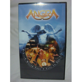 Angra Rebirth World Tour Live In Sp Original Nova Fita Vhs