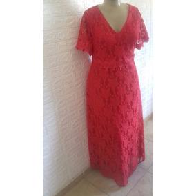 Vestido Plus Size Renda Longo Festacasamento, Formatura L034