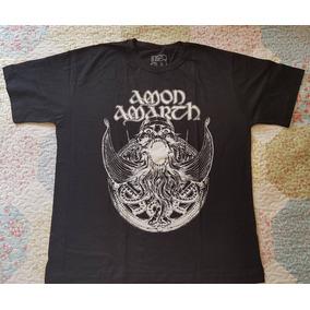 9783e99c9e Camisa Amon Amarth Masculina Tamanho M