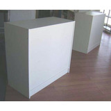 Mostrador Para Negocio Modelo Smo 1 Blanco 1.20 X 1.00h