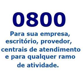 0800 Sip, Ip, Virtual, Convencional - Empresas, Provedores