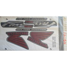Jogo Faixa Fan 150 Esdi 2012 (preta) Fa190