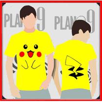 Remeras Estampadas Pikachu