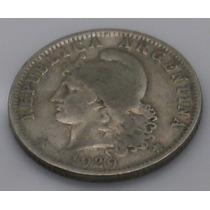 Antigua Moneda De Coleccion Argentina 20 Centavos 1929