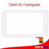 Tela Touch Tablet Qbex I753 Branco 7 Polegadas - Envio Já