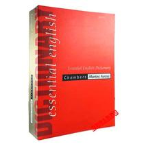 Essential English Dictionary Chambers Dicionário Inglês Novo