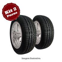 Kit 2 Pneu 185/60 R15 Goodyear Remold Gw Tyre 5anos Garantia