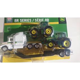 Ertl Tractor John Deere Con Low Boy Serie 8r Esc 1 64
