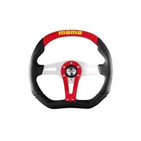 Momo Trk35bk0r Trek Rojo 350 Mm Volante De Cuero