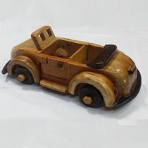 Miniatura Carro Antigo Madeira Enfeite Decorativo Barato
