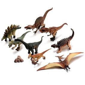 Dinosaurios Set Completo Coleccion A Escala Juguete Ml482