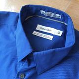 Camisa Calvin Klein Slim Body Fit Talle S Traje Fiesta