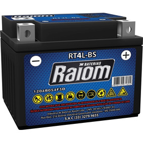 Bateria Raiom Rt4l-bs Titan Ks/biz Es-ks