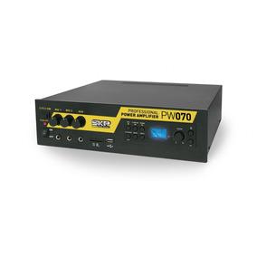 Lo Ideal Para Todo Uso 220v Y 12 V Amplificador Skp Pw-070