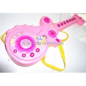 Guitarra Musical Princesas Pequeña Disney Niñas Usa Pilas Aa