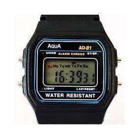 Relógio Digital Aqua A Prova D Àgua 20 Unidades