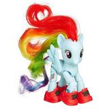 My Little Pony Mlp Figura Articulada Rainbow Dash Turista