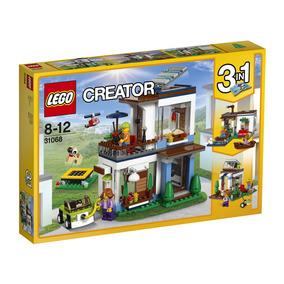 Lego Creator - Modelo 3 Em 1: Casas Modernas