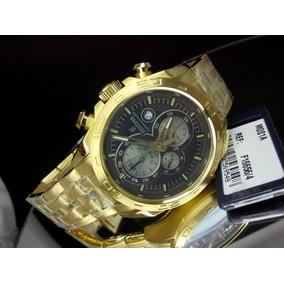 207d8d6f5af Relogio Festina Plaque Ouro Alarm - Relógios no Mercado Livre Brasil