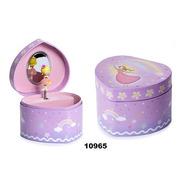 Caja Musical Hada Rosa Corazón De Las Flores 10965
