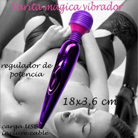 Vibrador Masajeador Clitorial Vaginal Magic Vibration Usb