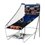Juego Arcade Basketball Baseball Americano Plegable Md Sport