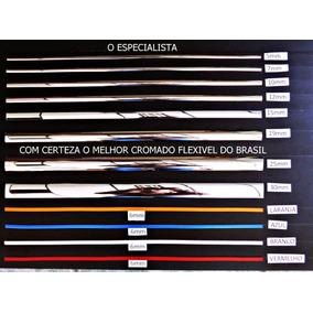 Friso Cromado Universal Filete Flexivel 7mm X 10 Metros