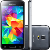 Samsung Galaxy S5 Mini Duos G800 - 8mp, Android - Novo