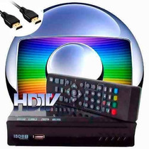 Conversor Digital Tv Tubo Led Gravador Hdtv Isdb-t-full Hd