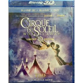 Bluray 3d Cirque Du Soleil Worlds Away Nuevo