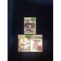Juegos Xbox 360 Fifa, Lucha Libre Y Pgr 3