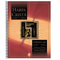 Harpa Cristã Com Música - Si Bemol (bb) - Cpad -frete Grátis