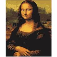 Pintura Numerada Monalisa Estilizada - Leonardo Da Vinci