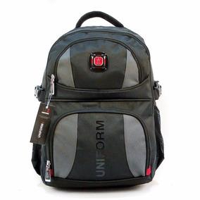 Mochila Colegial Secundaria Uniform 17.5 18 Porta Notebook
