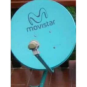 Solo La Antena Tv Movistar Con Su Lnb