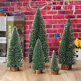 decoracin pequeo rbol de navidad en miniatura mini mes - Arbol De Navidad Pequeo