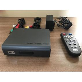 Media Player Wdtv Live Western Digital Fullhd 1080p Controle