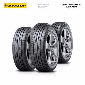 Kit X4 205/55 R16 Dunlop Sp Sport Lm704 +colocacion En 60suc