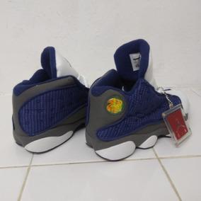 Tenis Nike Air Jordan 18 Retro Azul/blanco; Envío Gratis