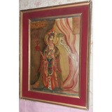 Mandala Tanka Tibetano Pintura Antigua Kuan Ying