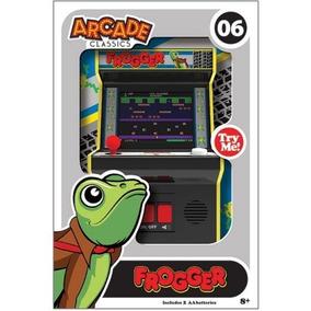 Arcade Classics Frogger Mini Maquina De Juego Con Sonido