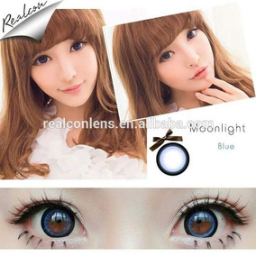 Pupilentes Azules Ojo Muñeca Cosplay Disfraz Circle Lenses