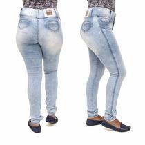 Calça Jeans Feminina Legging Levanta Bumbum Credencial