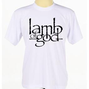Camisa Camiseta Personalizada Banda Rock Lamb Of God