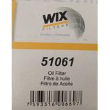 Filtro De Aceite Wix 51061 Motores Chevrolet.