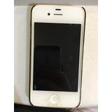 Iphone 4 Modelo A1332, Pantalla Trasera Rota, Desbloqueado