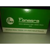 Grapas Fanagra 5000 Unidades De 9mm - 3/8