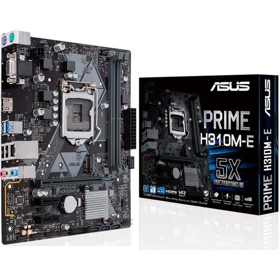 Mother Intel (1151) Asus Prime H310m-e Sata Vga Hdmi M.2