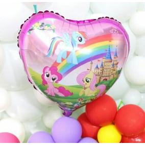 10 Globos Mi Pequeño Pony. My Little Pony 45 Centimetros